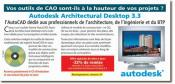 AUTODESK - Logiciel de conception architecturale Desktop 3.3