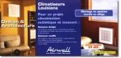 AIRWELL - Climatiseur mural ou all�ge
