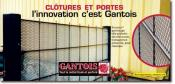 GANTOIS INDUSTRIES - Clotures et portes, garnissage t�le perfor�e