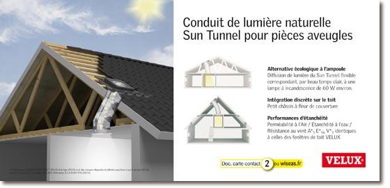 velux france sun tunnel. Black Bedroom Furniture Sets. Home Design Ideas