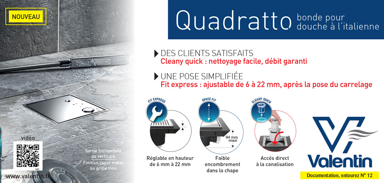 Quadratto - cleany quick - fit express - space fit