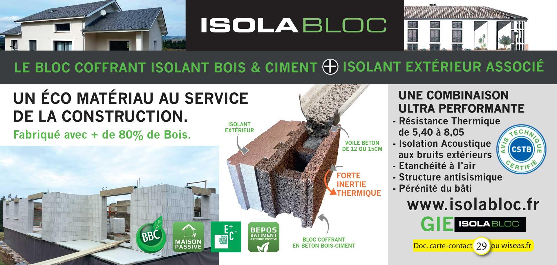 isolabloc - eco matériau isolabloc