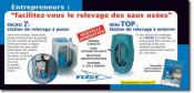 XYLEM WATER SOLUTIONS - Station relevage à poser ou enterrer