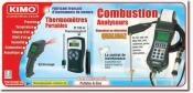 KIMO INSTRUMENTS - Appareils mesure portables, analyseur combustion