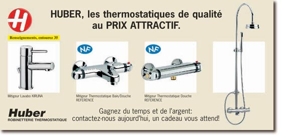 Huber spa robinet thermostatique - Robinet thermostatique chauffage central ...