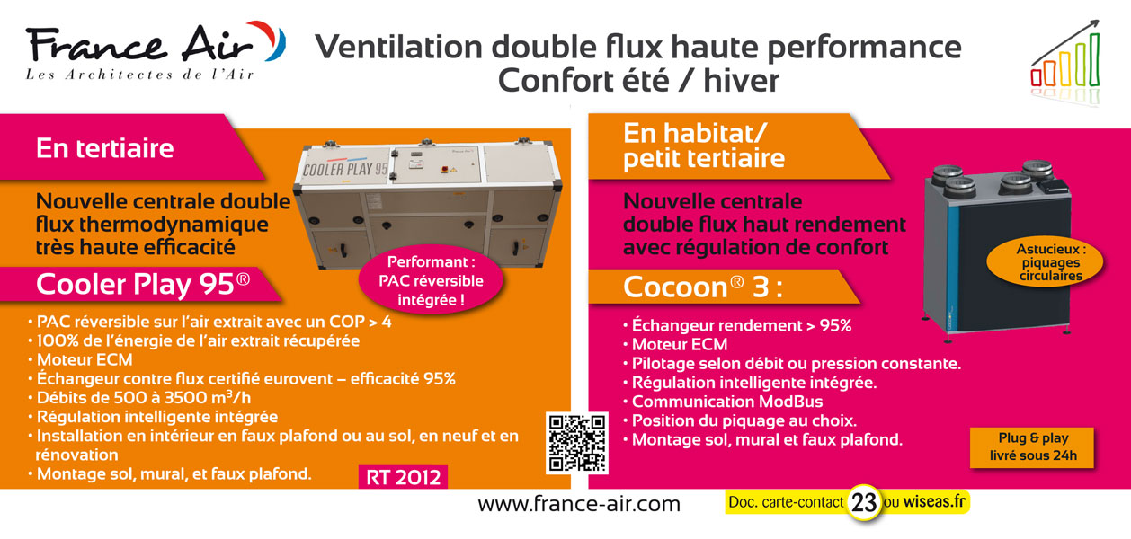 Cooler Play 95 et Cocoon 3