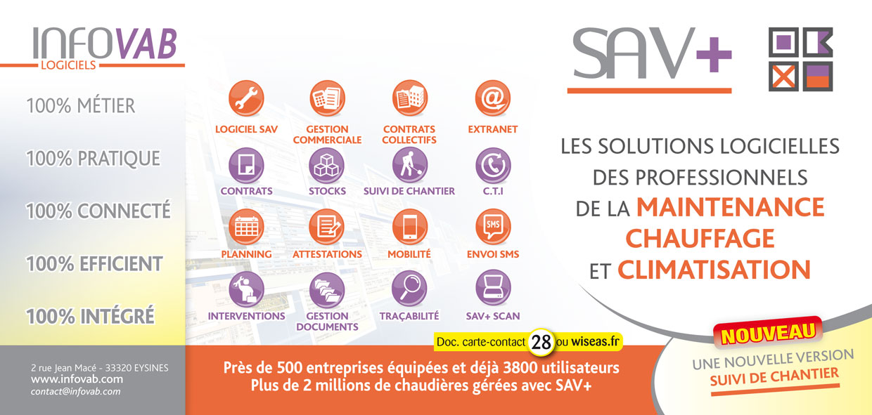 SAV+  Version suivi chantier