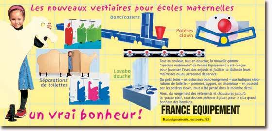 France Equipement Vestiaires Pour Crèches Et écoles Maternelles