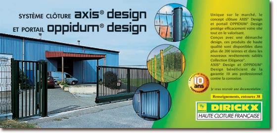 dirickx sas portail oppidum design cl tures axis design. Black Bedroom Furniture Sets. Home Design Ideas