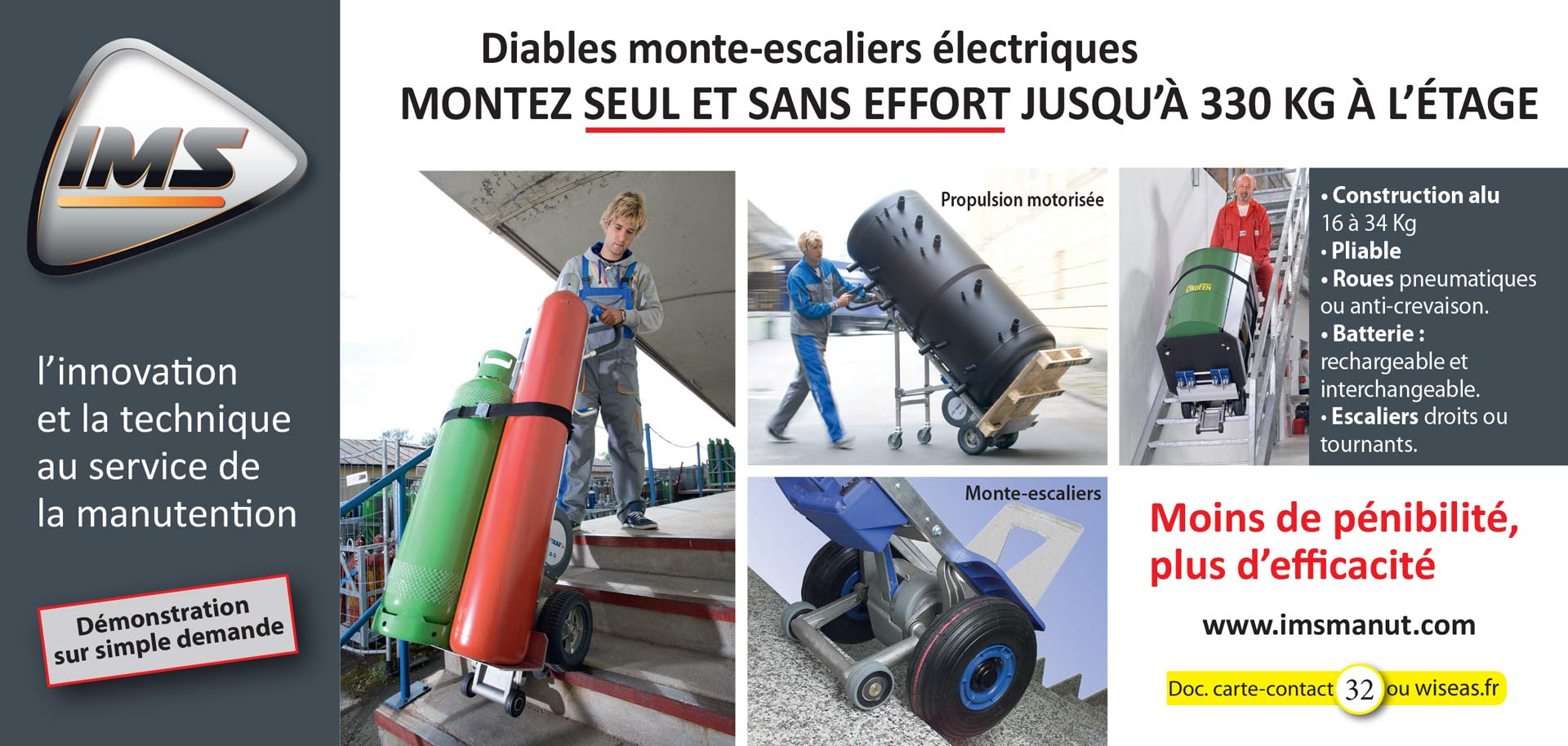 Monte-escaliers gamme HD