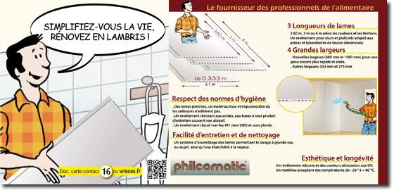 Philcomatic r novez en lambris pvc grande largeur - Lambris grande largeur ...