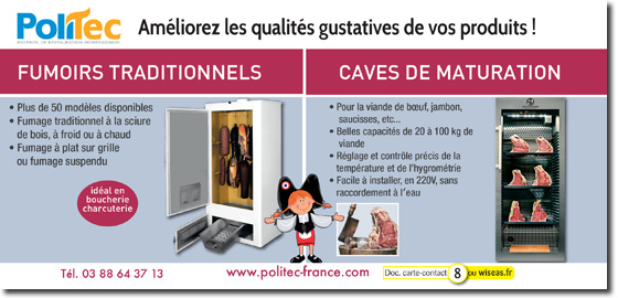 fumoirs, caves et armoires de maturation