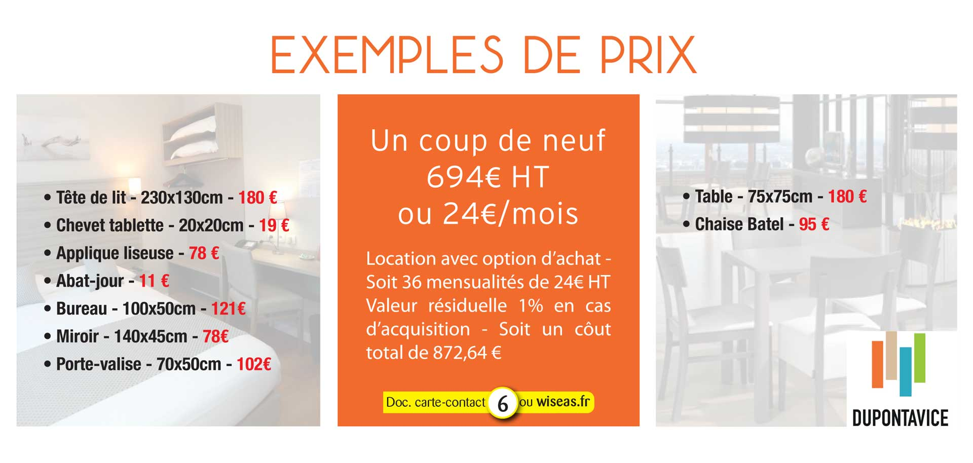 Location option d'achat ou vente
