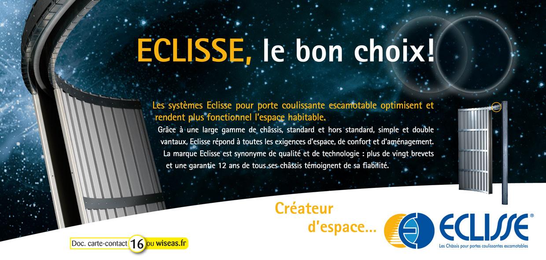Eclisse france porte coulissante escamotable - Porte coulissante escamotable ...