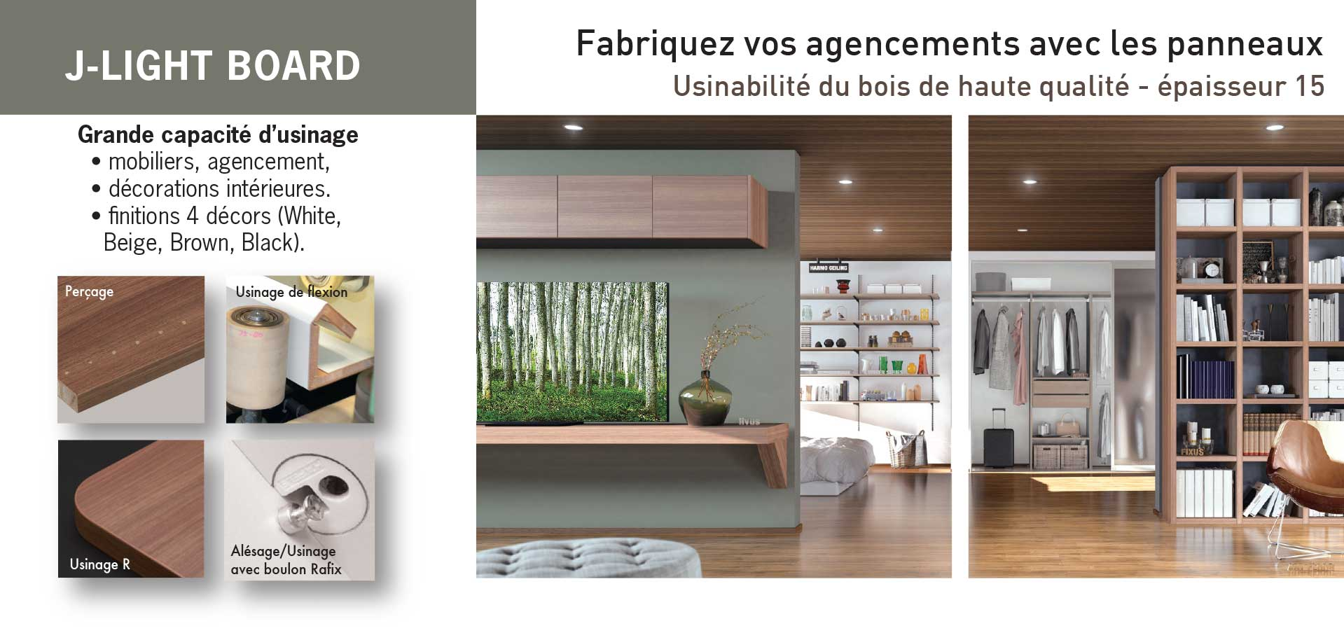 J-LIGHT Board - bois de Falcata