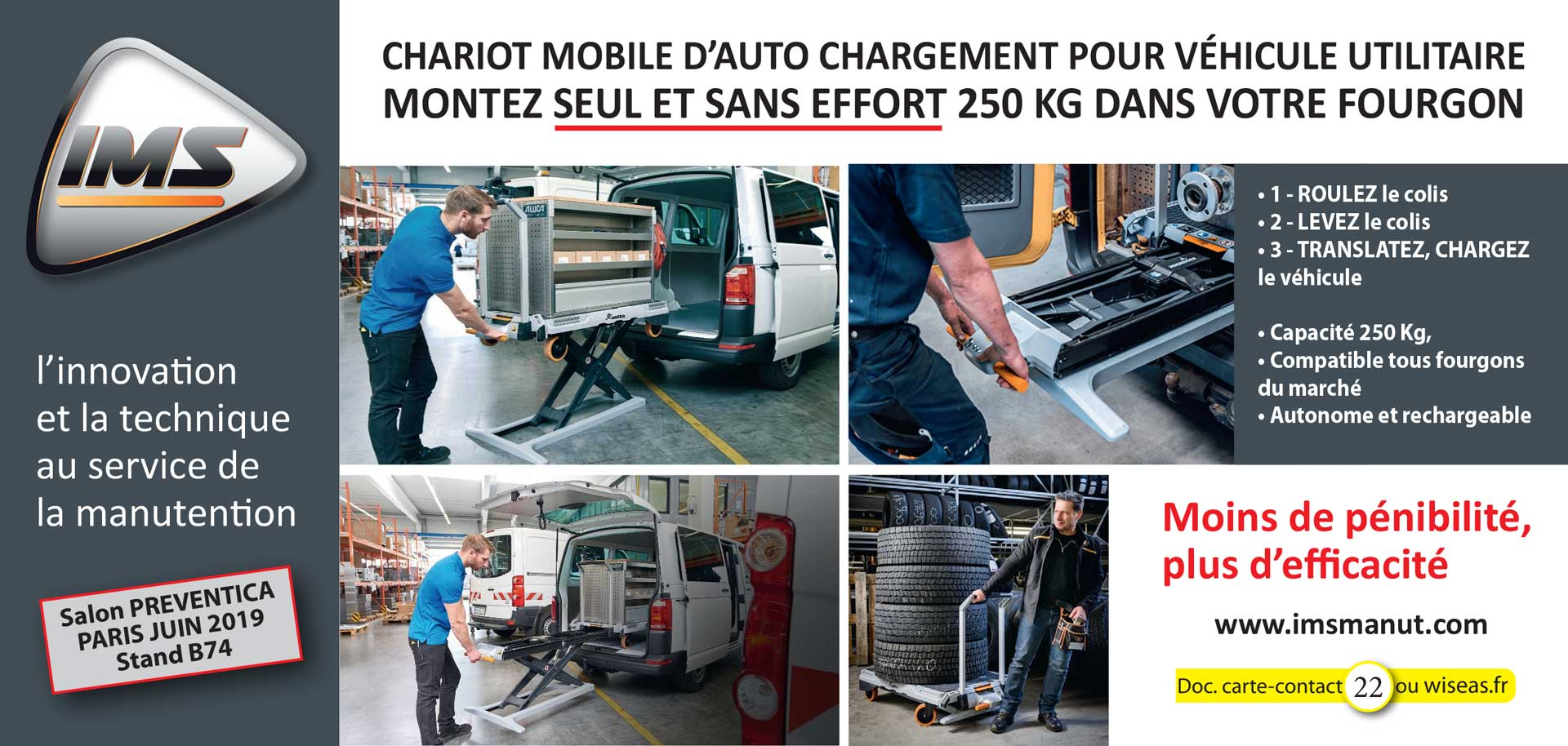 Chariot auto-chargement