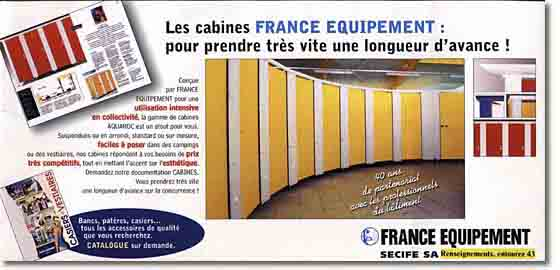 france equipement cabines casiers vestiaires. Black Bedroom Furniture Sets. Home Design Ideas
