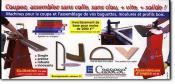 CASSESE SA - Coupe, assemblage moulures, baguettes bois