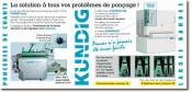 KUNDIG - Ponceuses de chants, ponceuses larges bandes