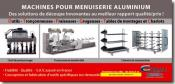 COMALL FRANCE - Machines pour menuiserie alu