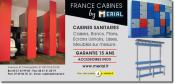 MERIAL - Cabines sanitaires, casiers, bancs.
