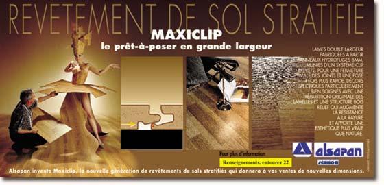 alsapan revetements de sol stratifies pose sans colle maxiclip. Black Bedroom Furniture Sets. Home Design Ideas