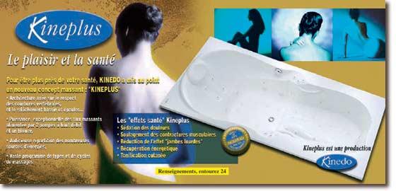 setma europe baignoire kineplus. Black Bedroom Furniture Sets. Home Design Ideas