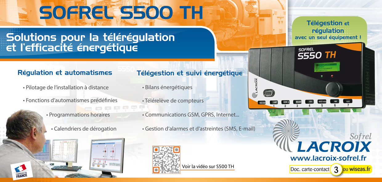 Poste local Sofrel S550 TH
