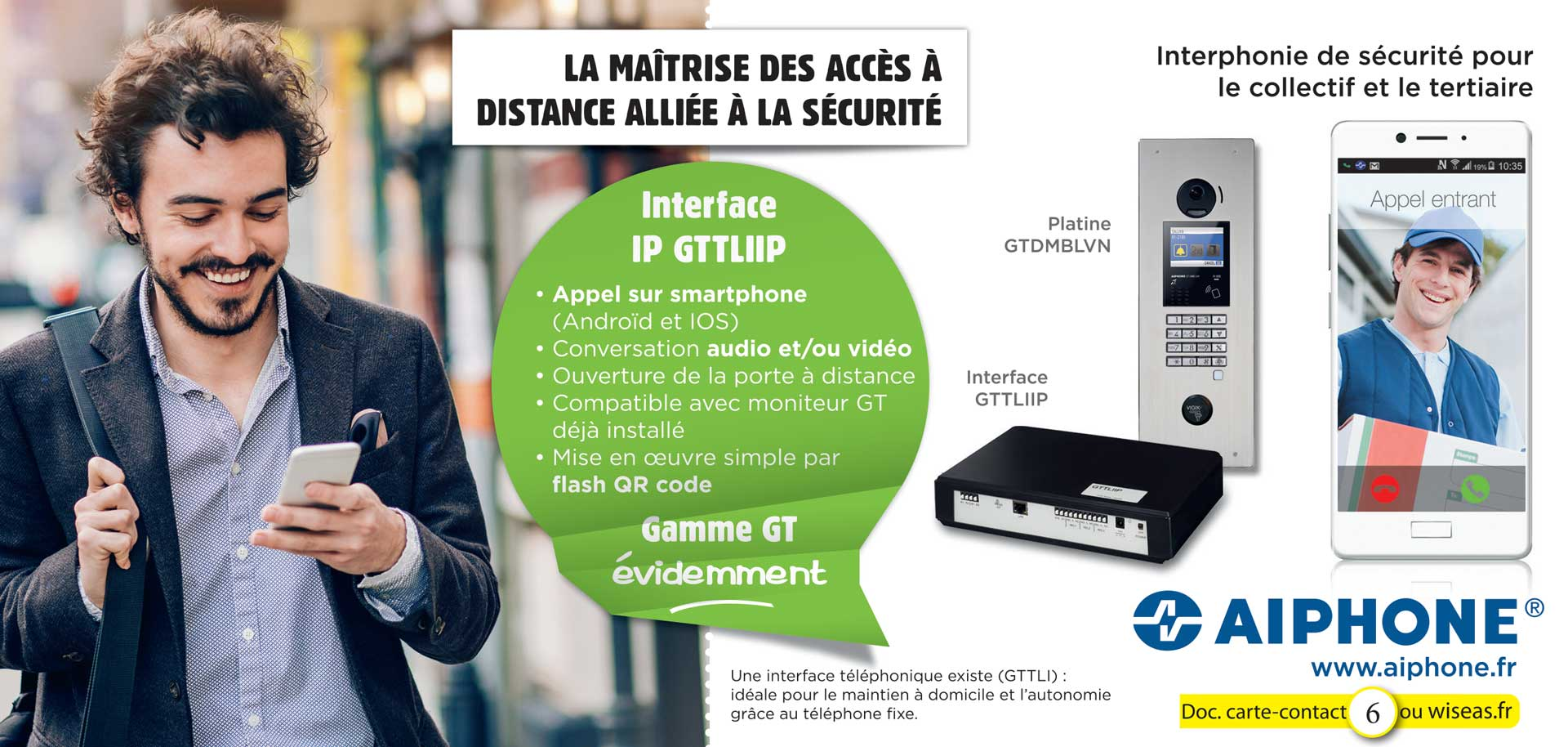 Interface IP GTTLIIP Collectif et Tertiaire.